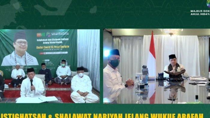 Airlangga Hartarto Gelar Indonesia Bersholawat Bareng Habib Syech, Para Habaib, dan Kyai