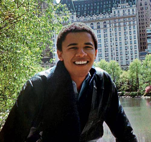 20li Yaşlarında Obama