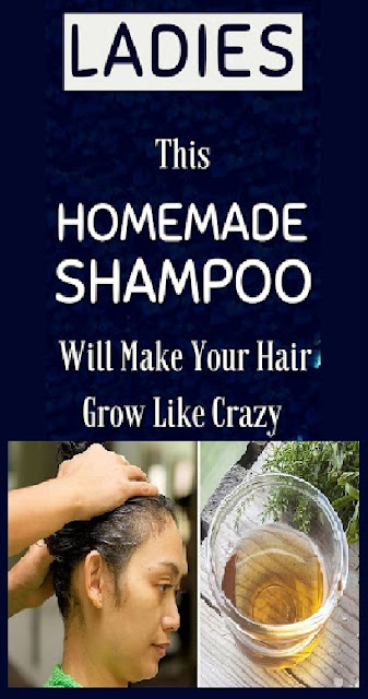 Ladies, This Homemade Shampoo Will Make Your Hair Grow Like Crazy