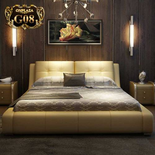 Mẫu giường ngủ nhập khẩu tại onplaza