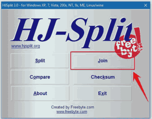 Cara Mudah Menggabungkan File Ber Part - Part Dengan HJ-SPLIT