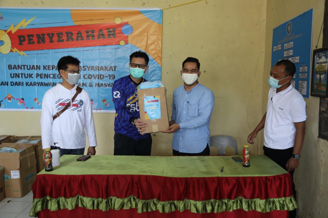 Peduli Covid-19, RSBP Batam Berikan Bantuan Peralatan Kesehatan untuk Masyarakat di Kelurahan Tiban Indah