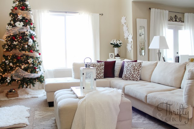 ideas for decorating my living room christmas 4 chairs thrifty and chic diy projects home decor the
