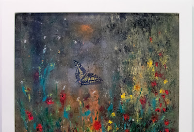 Nature rediscovered during Covid-19 - 90 x 90cm