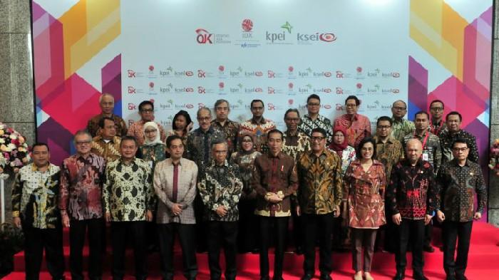 Presiden Jokowi: Hentikan Praktek Goreng-Gorengan Saham