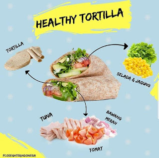 makanan sehat diet pcos