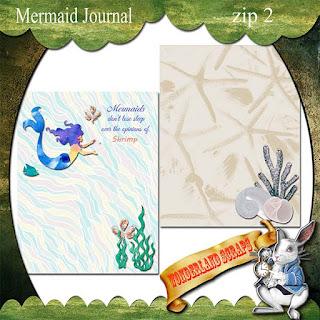 Zip 2 of Mermaid Journal