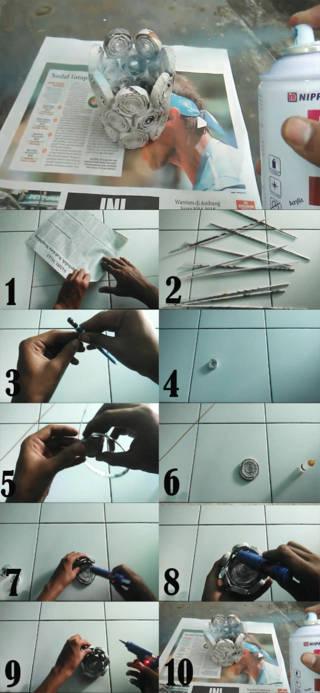 cara membuat tempat pensil dari koran bekas yang mudah dibuat