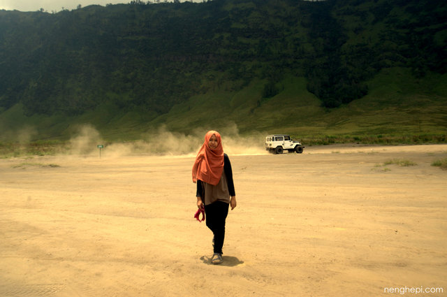 Pasir Berbisik, Kawasan Gunung Bromo
