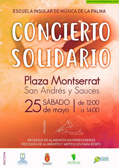 La Escuela Insular de Música celebra este sábado un concierto solidario en Los Llanos de Aridane