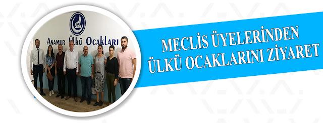 MANŞET, Anamur Son Dakika, SİYASET, Anamur Haber, ANAMUR ÜLKÜ OCAKLARI,
