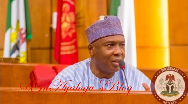 Mace Snatching: Senate President Bukola Saraki Reacts