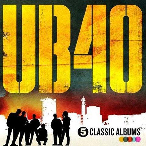 UB40 5 Classic Albums