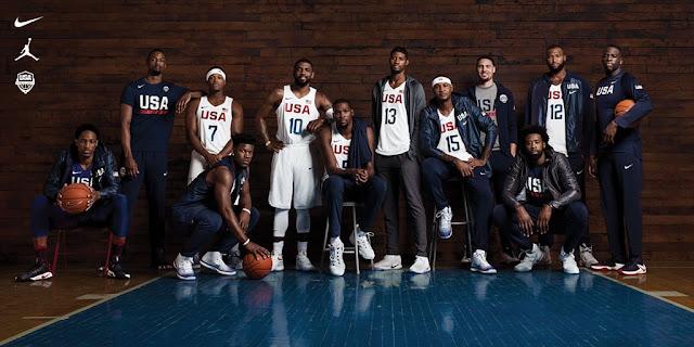Nike esconde a los infieles al swoosh en la foto oficial del Dream Team para Río