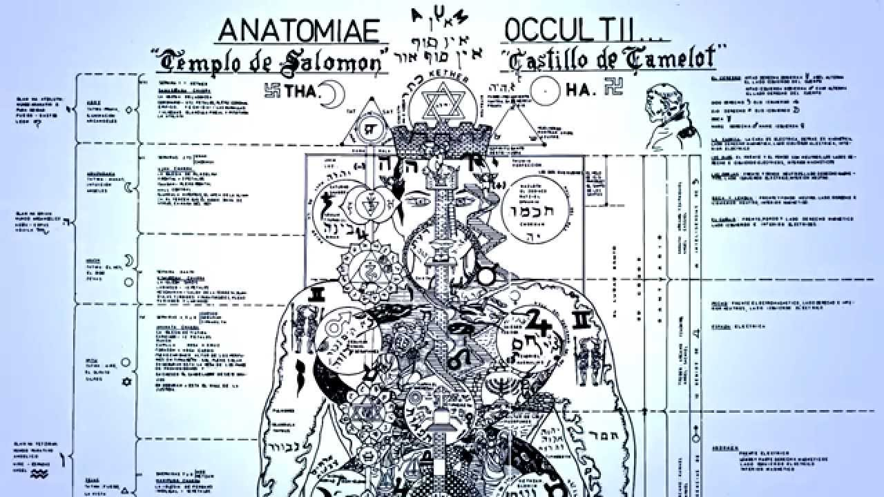 BIBLIOTECA ESOTERICA : LOS 7 CUERPOS ANATOMIA OCULTA DEL HOMBRE