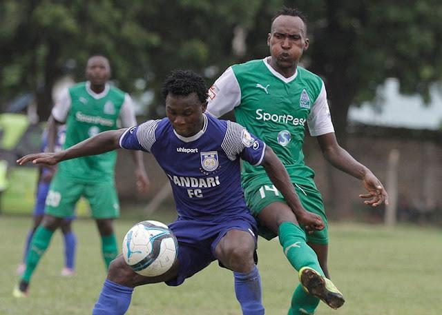 Bandari FC winger Shaban Kenga photo