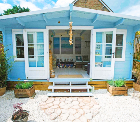 Beach Theme She Shed