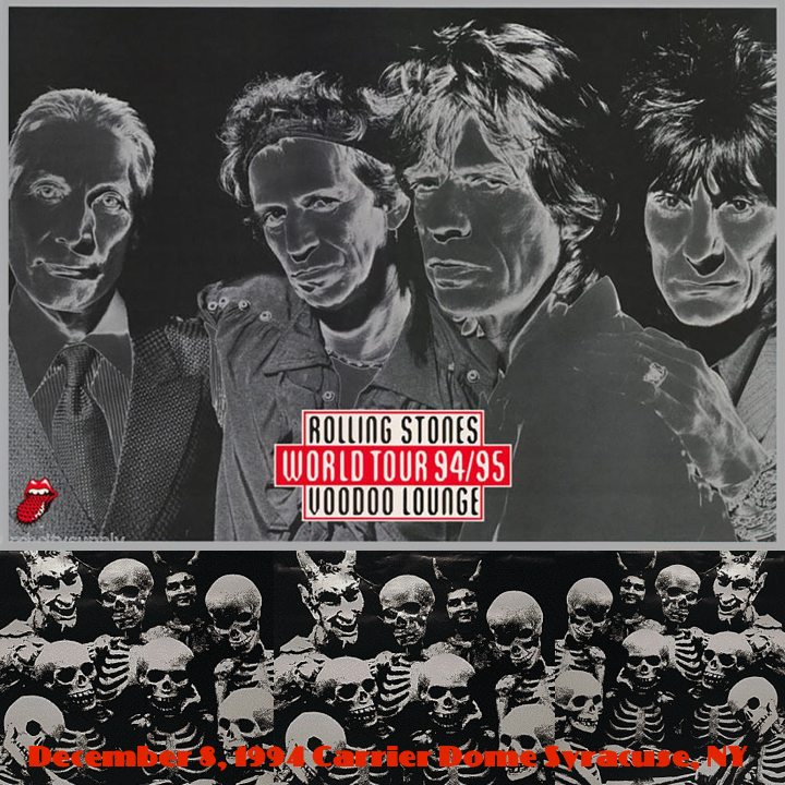 HEAVY-ROCK BOOTLEGS: The Rolling Stones:1994-12-08-Carrier Dome