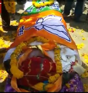 भाजपा नेता गोपाल कन्नौज के देहांत की खबर सुनते ही क्षेत्र में शोक का माहौल