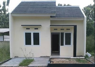 Desain Rumah Sederhana Berbiaya Murah Dengan Budget 60 Juta