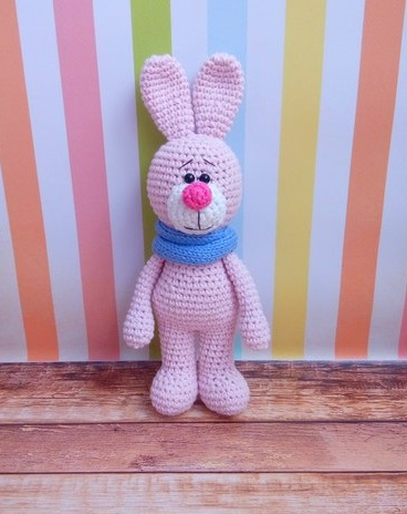 Free Amigurumi Patterns In English : Amigurumi Pink Bunny-Free Pattern - Amigurumi Free Patterns