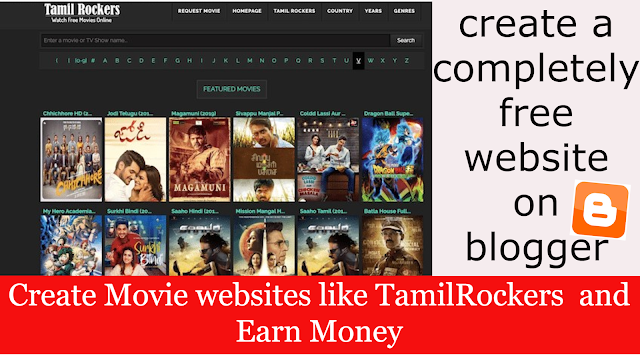 Tamilrockers Movie Download Sites