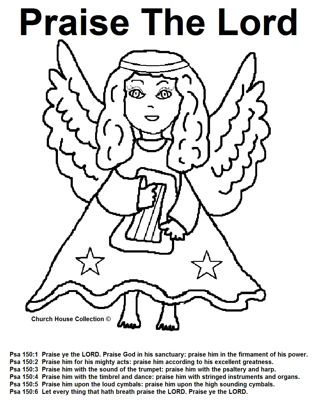 coloring pages praise - photo#30