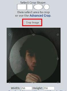 cara membuat foto dan gambar menjadi bulat seperti foto yasin