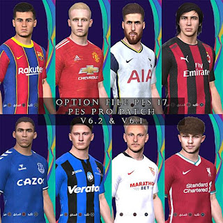Images - New Option File For PES Professional Patch V6.2