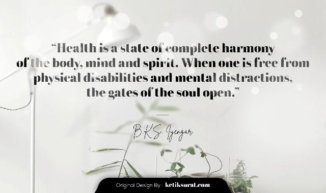 quotes tentang kesehatan