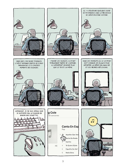 "page de ""CrossRoads"" de Paco Luca et Seguridad Social chez Delcourt"