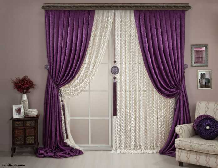 Purple Curtains For Bedroom Living Room Opt For Purple Curtains 25 Purple Curtain Designs For Inspiration
