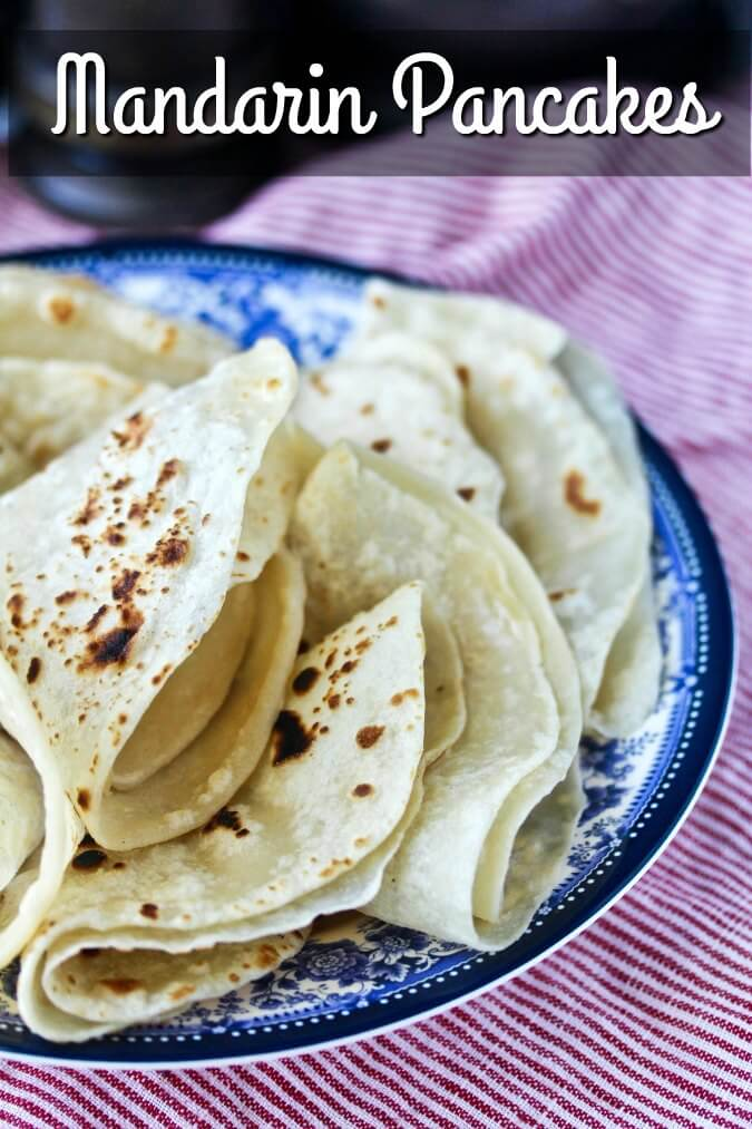 Mandarin Pancakes for Moo Shu Pork