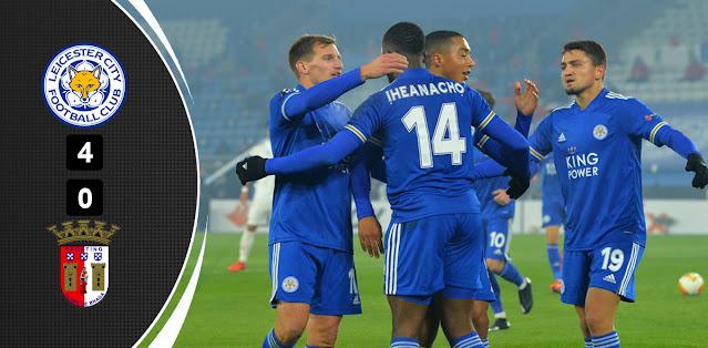 Leicester City vs Sporting Braga – Highlights