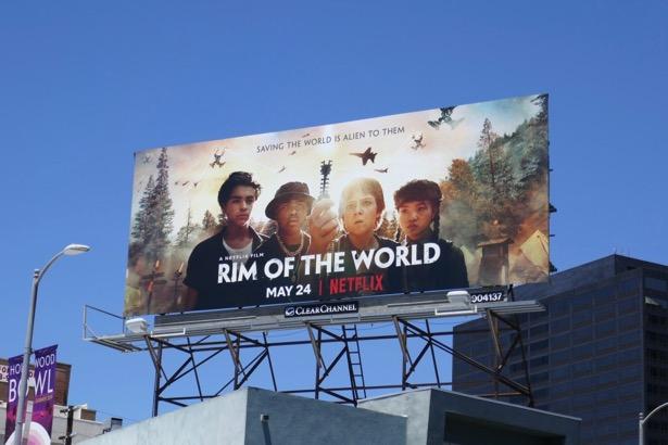 Rim of the World movie billboard