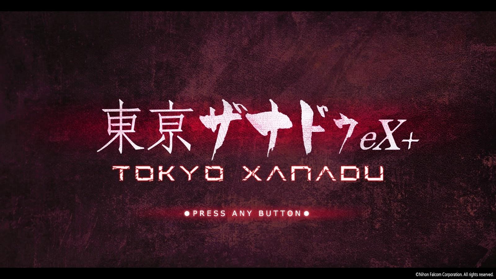 The Hyper Nerd: Tokyo Xanadu Ex+ Review (PS4)