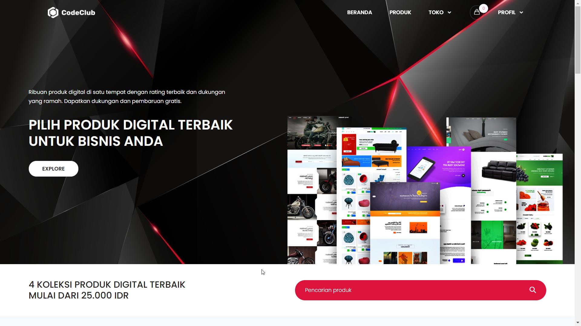Toko Online Produk Digital Multi Seller
