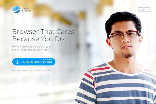 salam browser, mengapa remaja dan ibubapa perlu menggunakan salam browser, browser patuh syariah, browser islamik, cara mudah download video youtube, elak iklan unsur lucah dan video lucah,