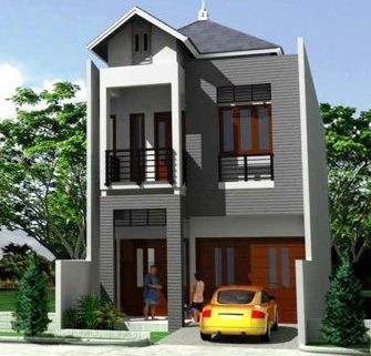 referensi desain rumah minimalis modern di lahan yang sempit
