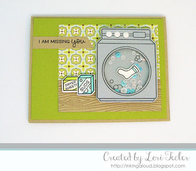 I Am Missing You card-designed by Lori Tecler/Inking Aloud-stamps and dies from Lawn Fawn