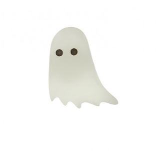 Ghost Brooch - Tatty Devine - Halloween Jewellery Edit