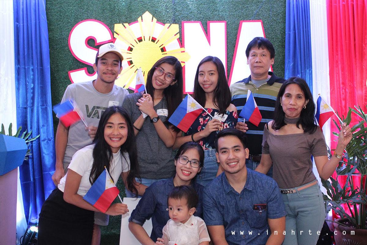 Group photo with President Sanji