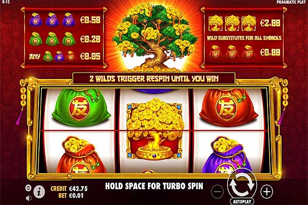 Main Gratis Slot Indonesia - Tree of Riches (Pragmatic Play)