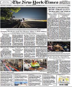The New York Times Magazine 27 November 2020 | The New York News | Free PDF Download