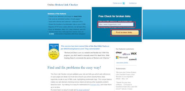 Cara Cek Broken Link atau Link Mati yang Ada di Blog dan Cara Mengatasinya
