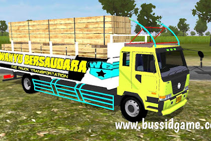 Mod Truck Nissan CWA Angkut Kayu Balok By MTSA Team