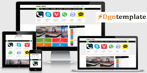 Sora-apps Responsive Blogger Template   high-quality themes