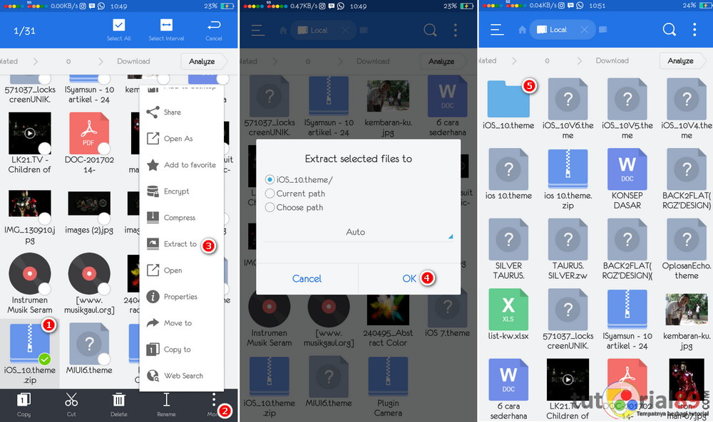 Cara edit themes smartphone oppo untuk pemula | Tutorial89