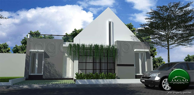 Rumah dalam Cluster di Purwomartani
