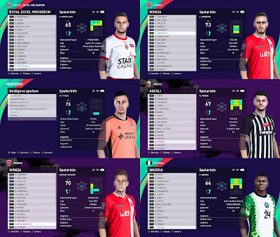 PES 2021 Facepack 2 by Random Facemaker